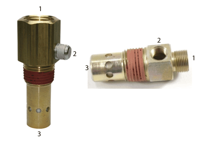Air compressor troubleshooting check valve