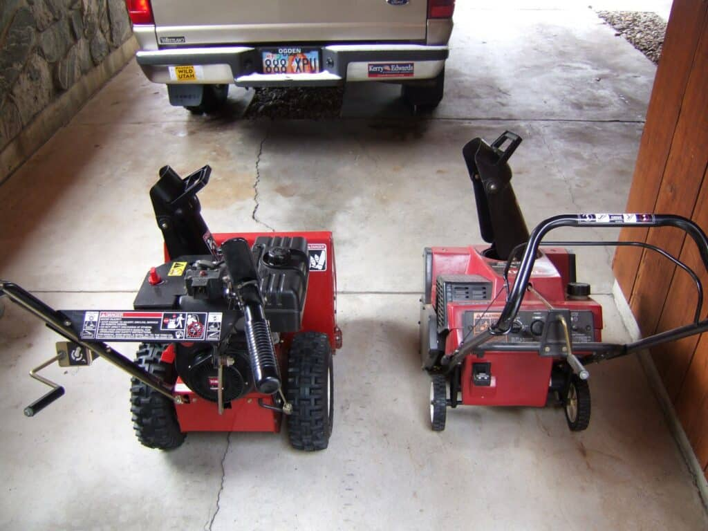 How to store your snowblower properly