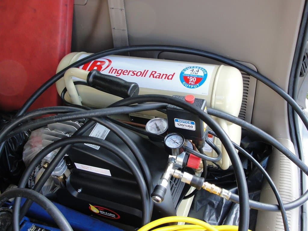 can air compressors freeze