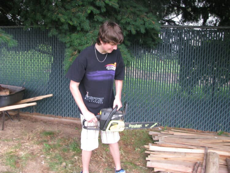 chainsaw tips for beginners