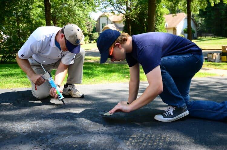 resurface asphalt driveway