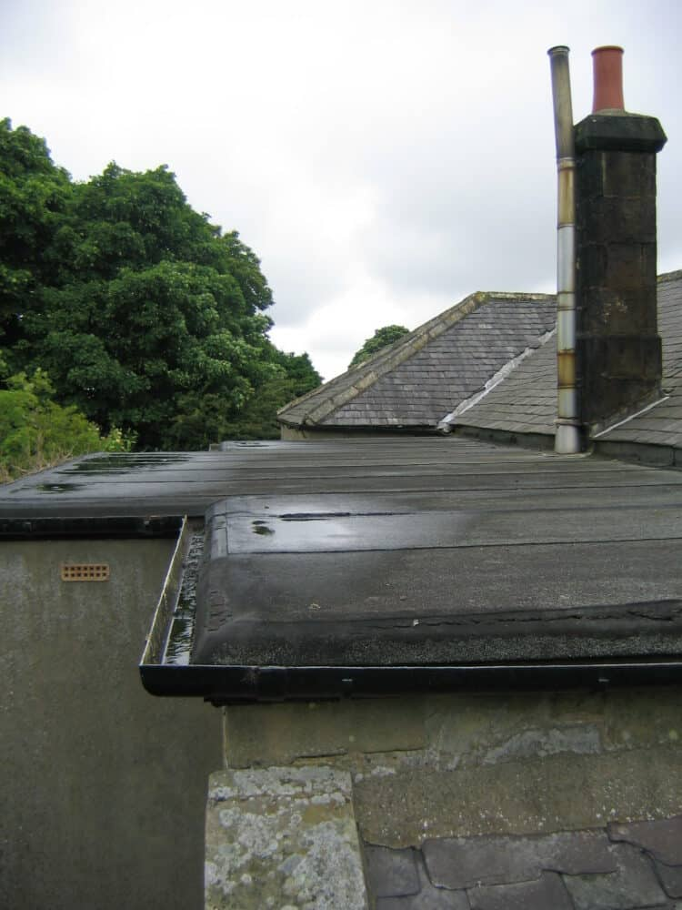 built-up roof