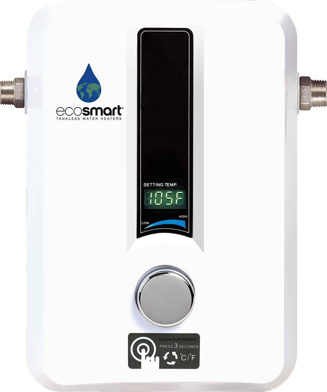 ecosmart tankless water heater