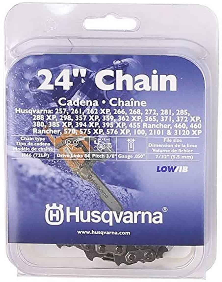 The Husqvarna 24-Inch Saw Chain