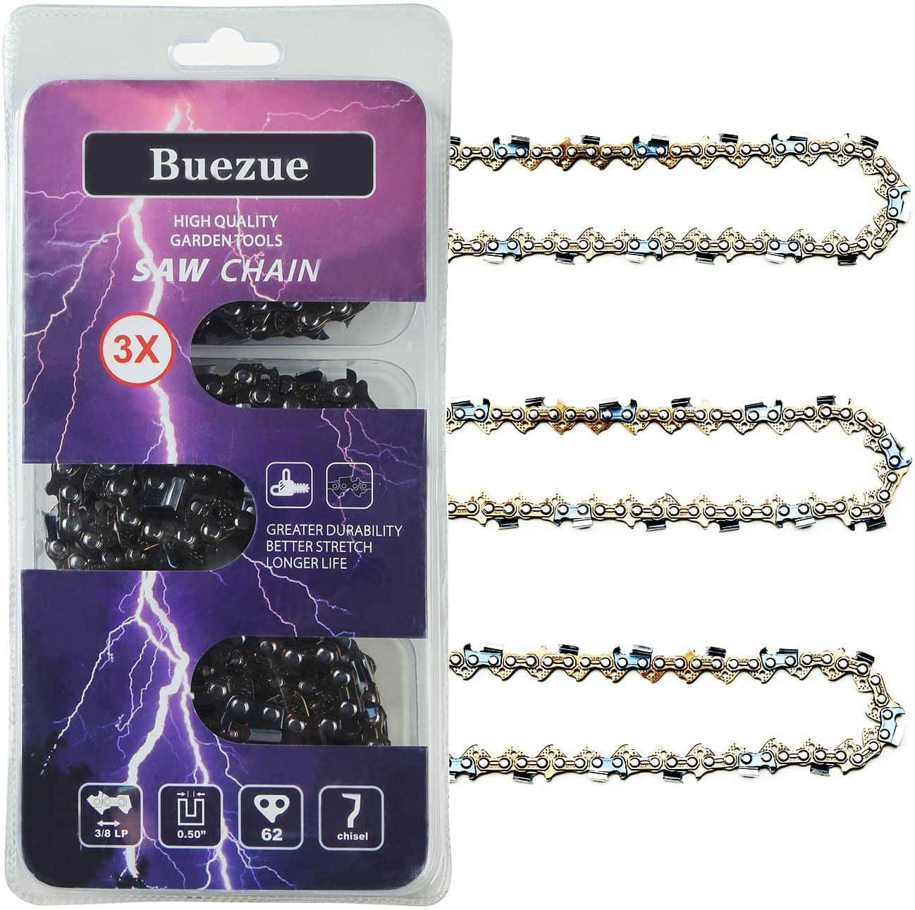 Buezue Saw Chain of Chainsaws 18-inch