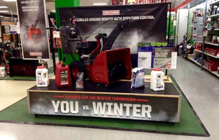 Best time to buy a snowblower