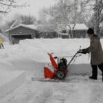 How to use a snowblower