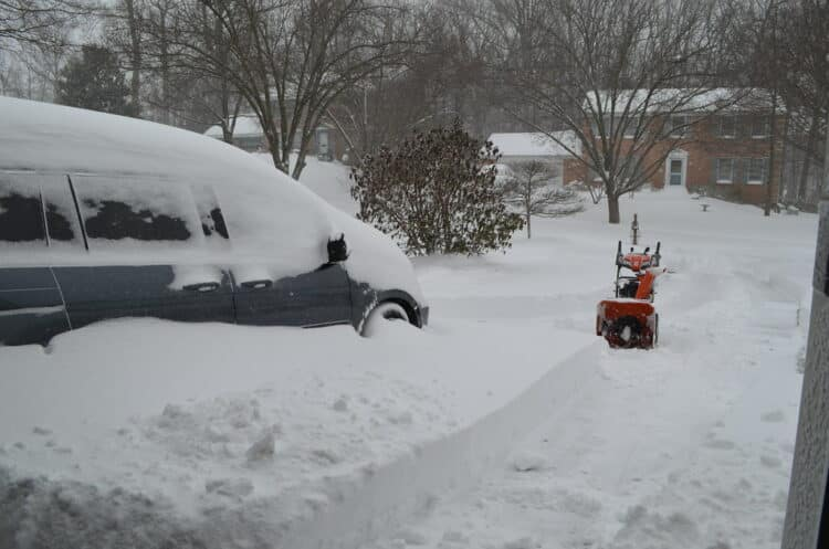 Buying a snowblower