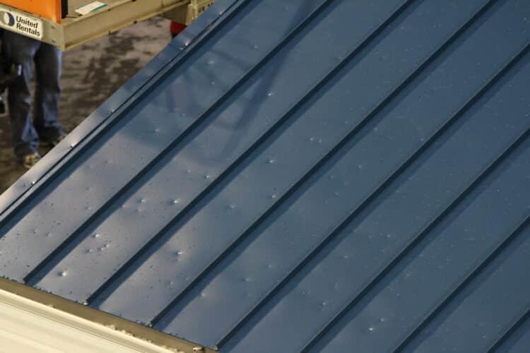 metal roof hail damage