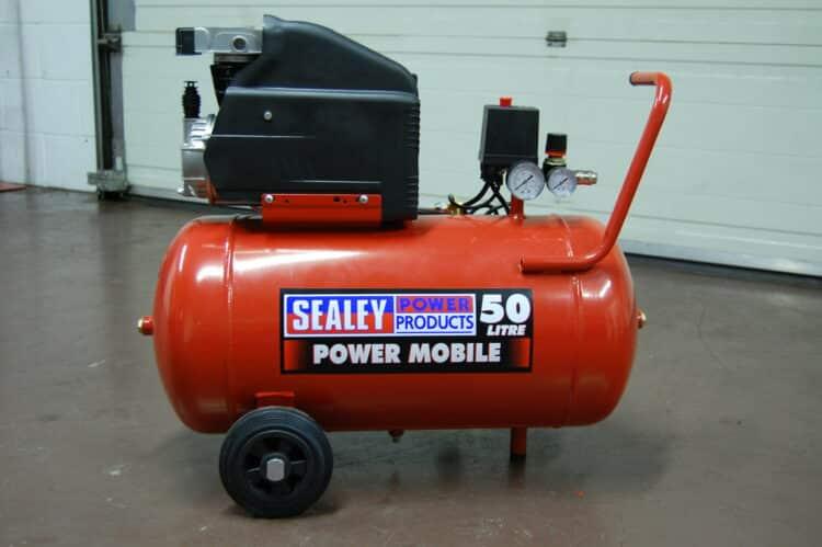 air compressor noise reduction
