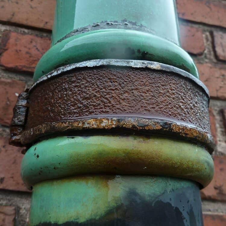 copper pipe corrosion