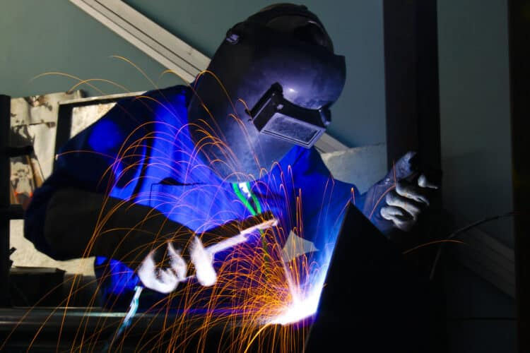 Welding safety aprons