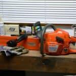 chainsaw rpm