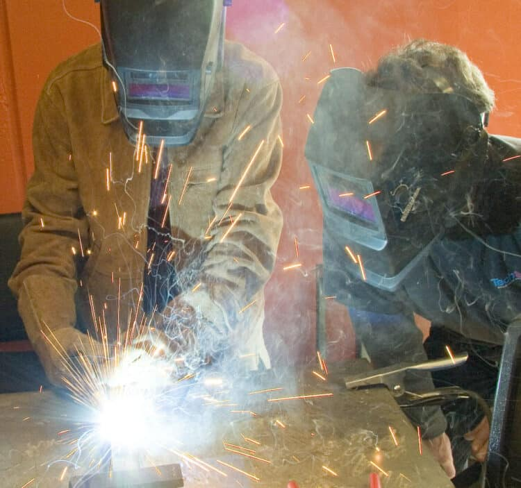 Do you need to use a welding jacket
