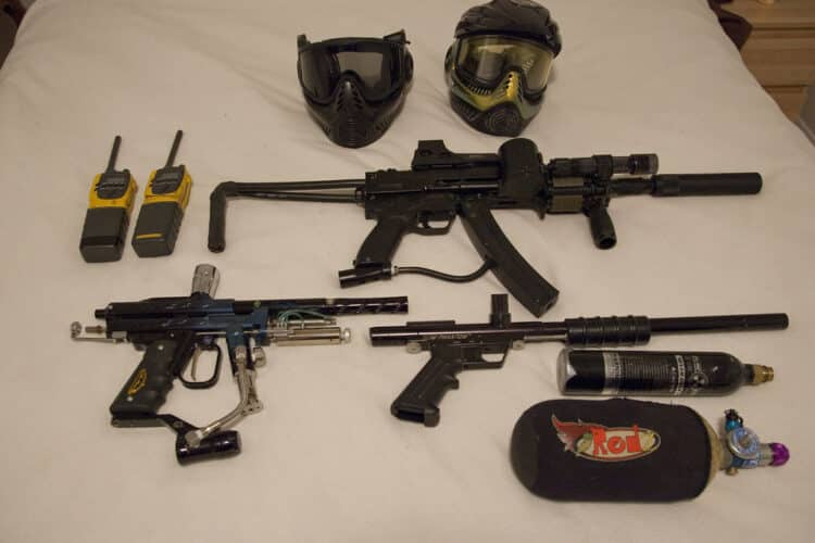 how to fill paintball tank with air compressor
